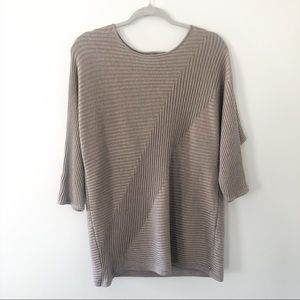 Chico's ribbed boat neck sweater 2